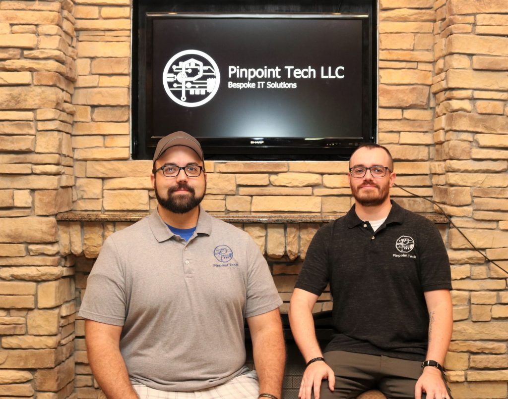 Jacob Tabbert and Benjamin Arthaud, Owners of Pinpoint Tech