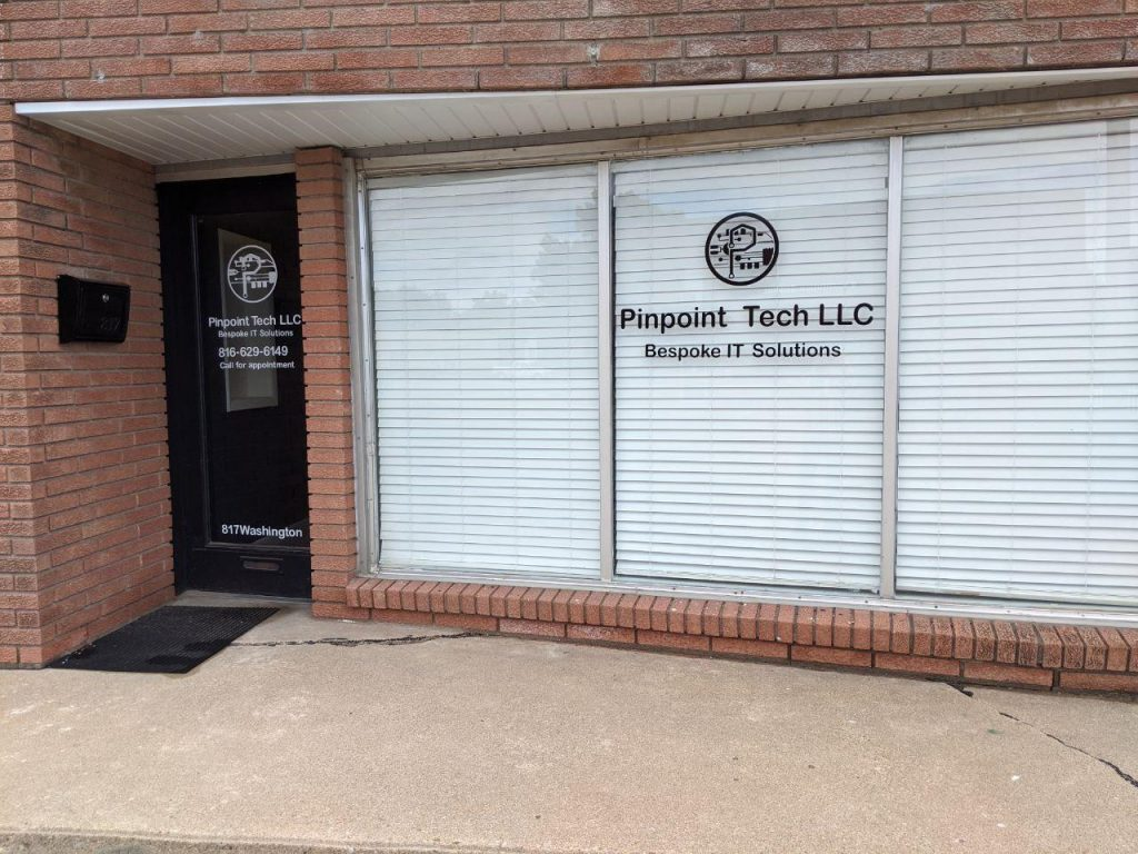 Front of Pinpoint Office